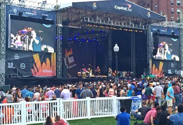 Smashmouth on the Boston Common