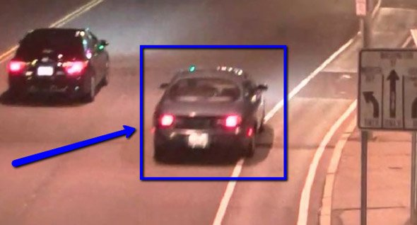Car sought for hit and run in Cambridge