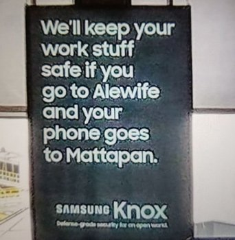 Samsung ad implies phone thieves are all from Mattapan