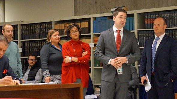 Josh Zakim at licensing hearing