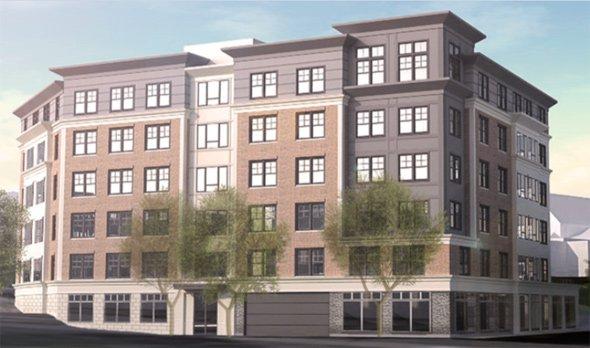125 Warren St. architect's rendering