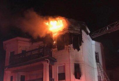 Armandine Street fire