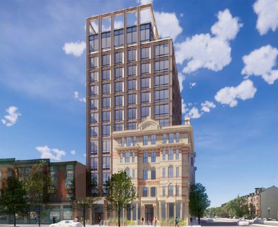 Proposed rehab, expansion of Alexandria Hotel on Massachusetts Avenue