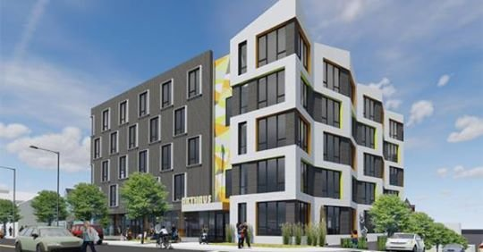 Proposed North Beacon Street building