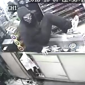Black and Mild thief wanted in Medford