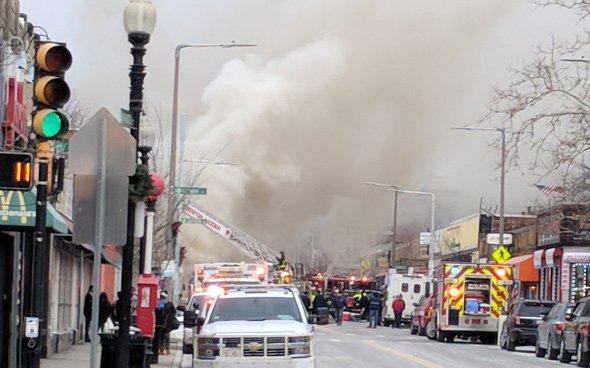 Codman Square fire
