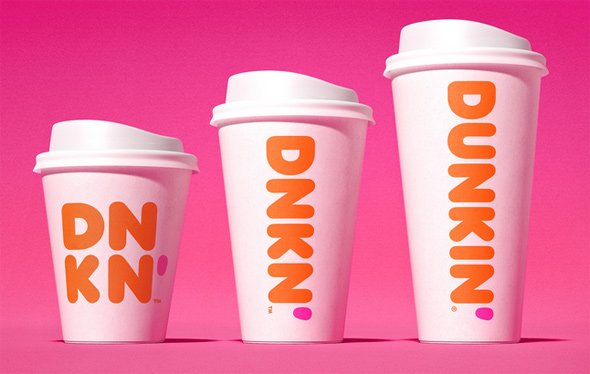 New Dunkin' cups