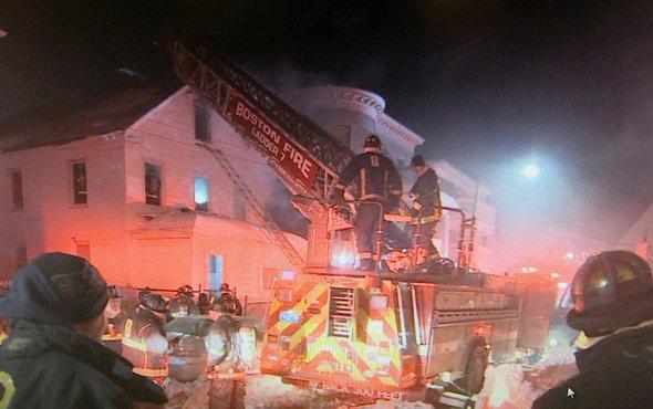 12 Drayton St. fire