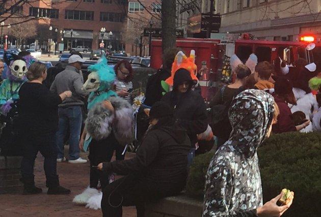 Furries evacuated from Boston hotel