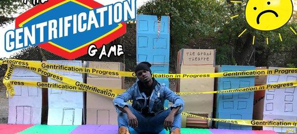 Gentrification Game in Uphams Corner