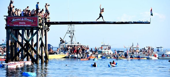 Gloucester greasy pole