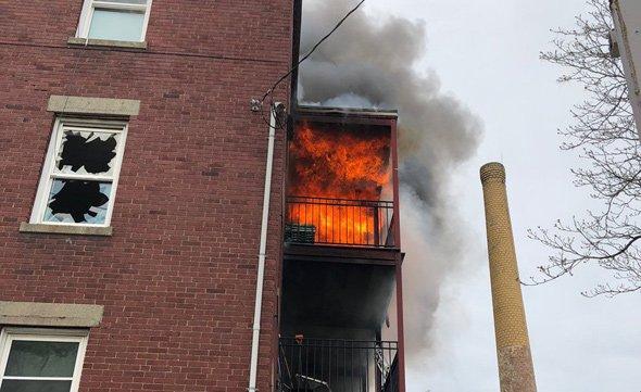 Groom Street fire