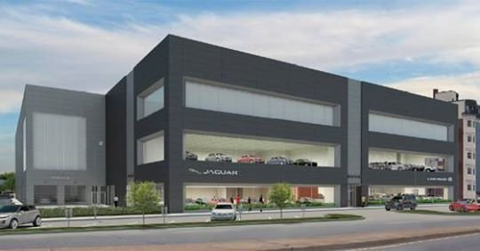 Proposed Herb Chambers Jaguar and Land Rover dealership