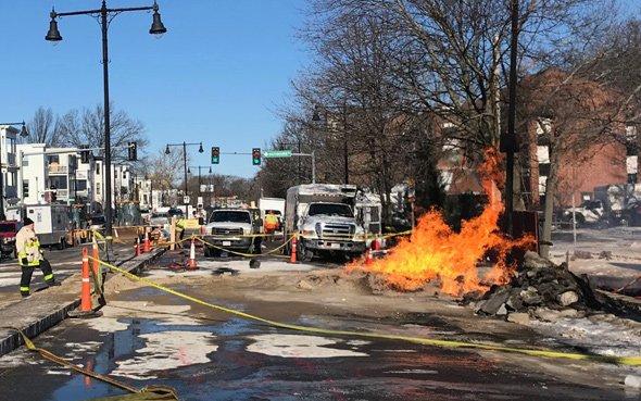 Hyde Park Avenue fire