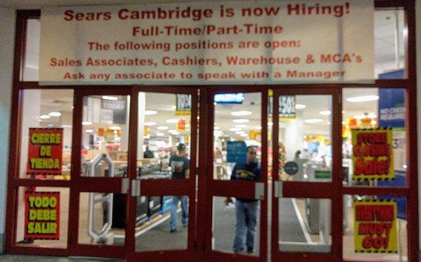 Cambridgeside Galleria Sears is closing