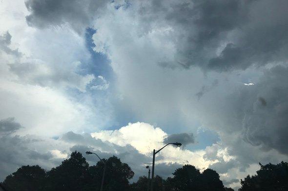 Storm over Dorchester