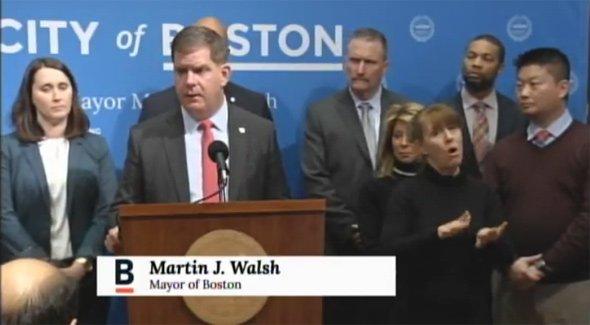 Walsh announces school shutdown