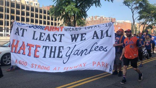 Yankee haters in Boston