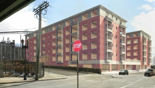 Proposed building on Bremen Street in East Boston