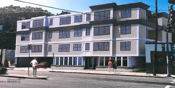 Archtect's rendering, 5205 Washington St.