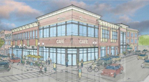Architect's rendering: 9 Chelsea St. in East Boston