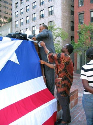 Liberia Day AT Boston City Hall