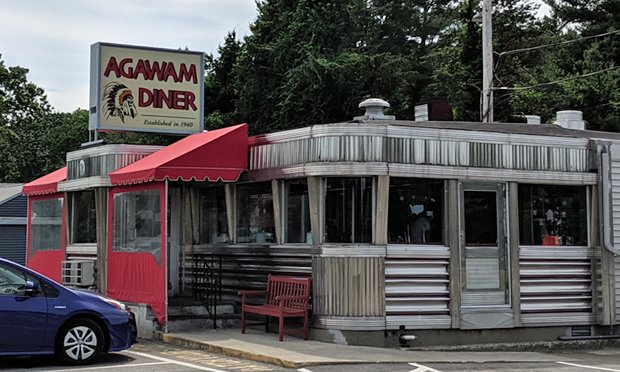 Agawam Diner in Rowley