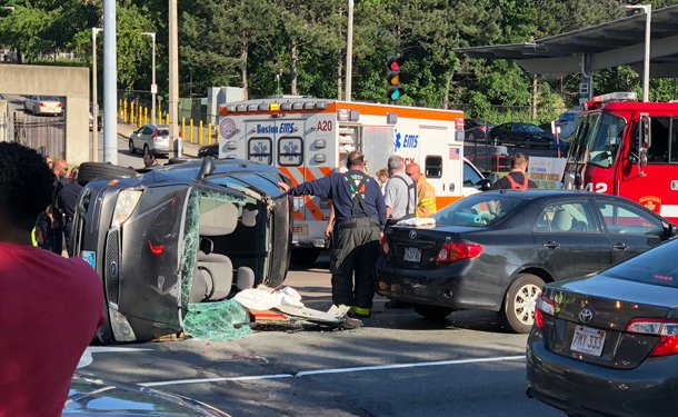 Crash on Columbus Avenue