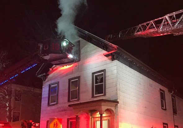 53 Brookside Ave. fire