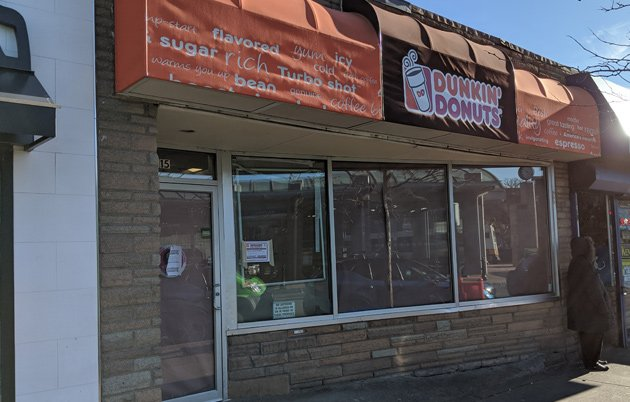 Closed Dunkin' Donuts in Maverick Square