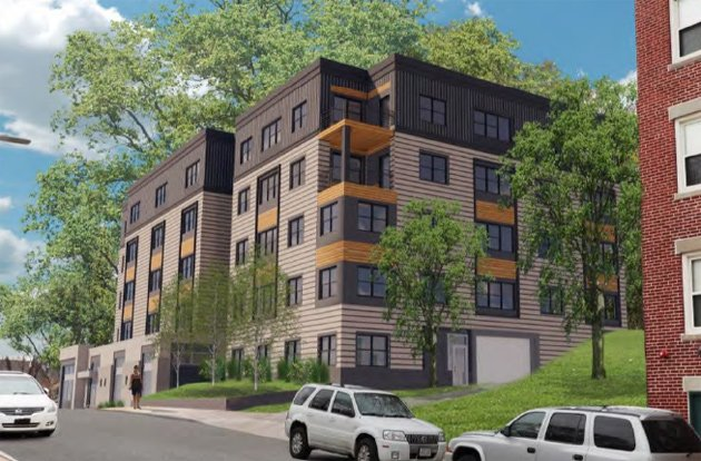 Condos proposed on long vacant land off Circuit Street in