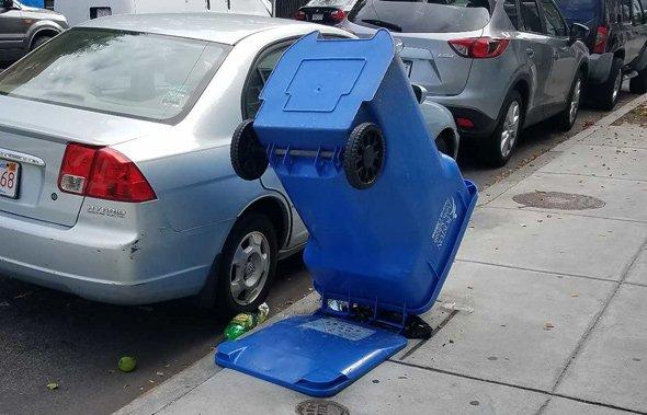 Hidden hydrant in East Boston