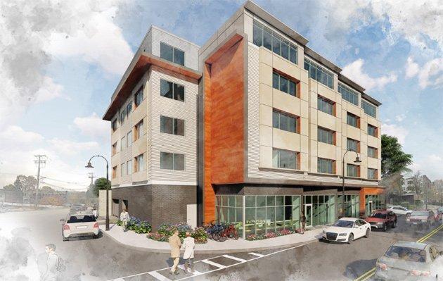 Proposed Junior's building