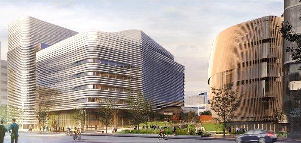 Proposed Northeastern University building