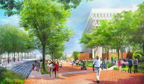 New City Hall Plaza
