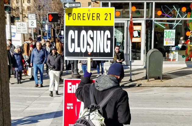 Forever 21 won't actually be around forever
