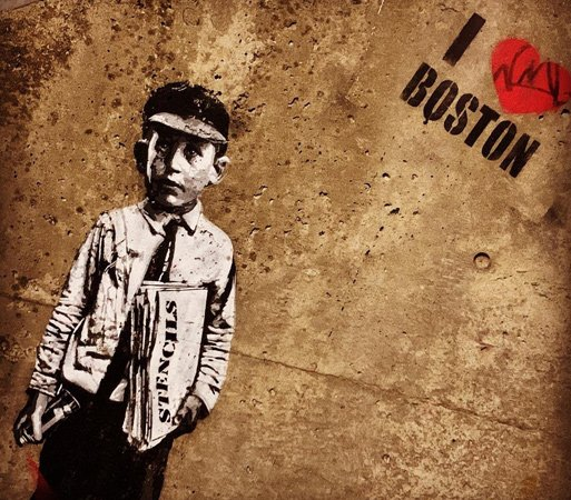 Paperboy and I Heart Boston on