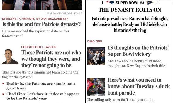 bostonglobe.com on Dec. 17 and today