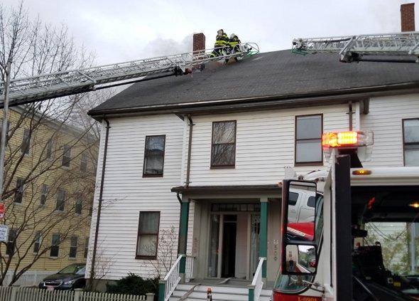 Fire on Putnam Street