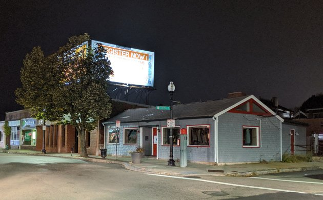 The former Dempsey's to come down