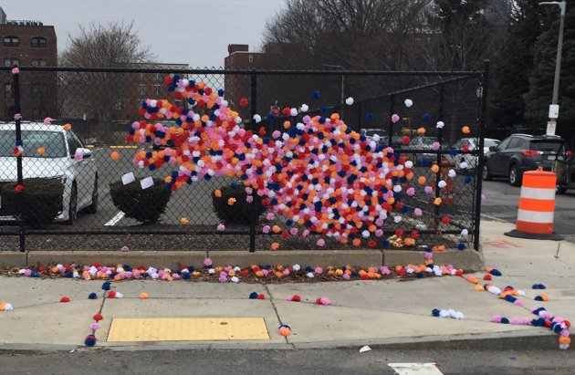 Memorial for Andrea Foye and Christine Ricketts in Roxbury