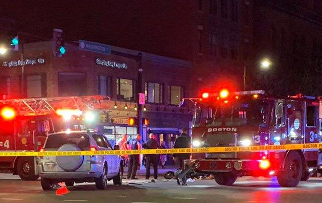 Crash at Massachusetts Avenue and Washington Street