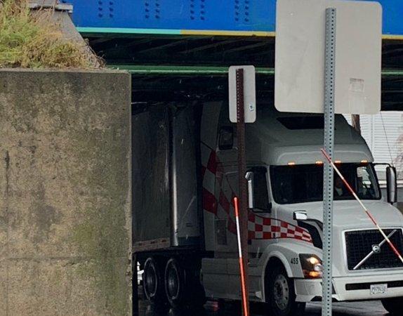 Truck storrowed in Medford