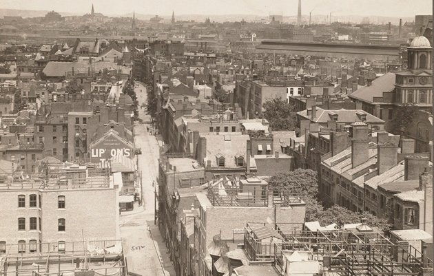 West End before the BRA