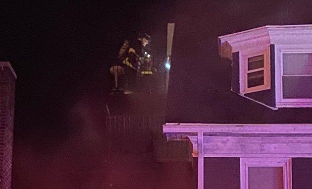 Harvard Avenue fire