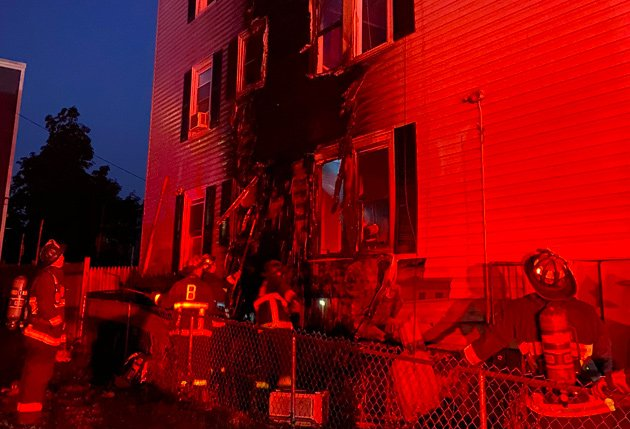 87 Westville St. fire aftermath