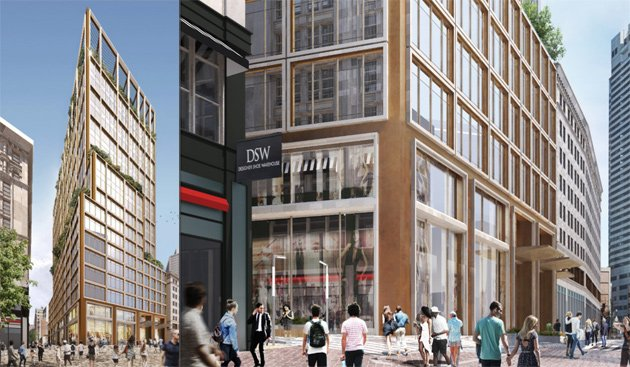 Proposed tower at Bromfield and Washington streets in downtown Boston