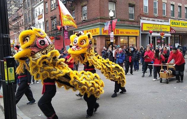 New Year celebrations in Chinatown