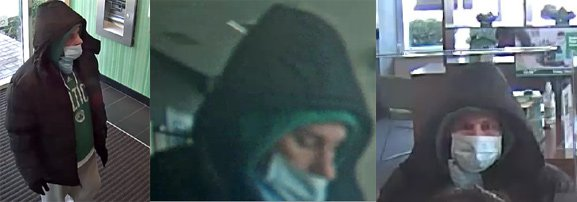 Quincy bank robber sought