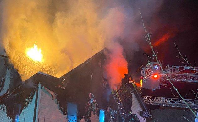 Fire on Stonehurst Street